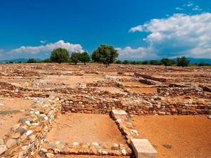ancient olinthos Halkidiki