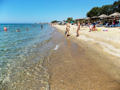 Dionisiou beach Halkidiki Greece